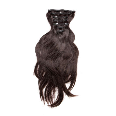 Natural Straight Clip-In hair extensions from Body by Marie