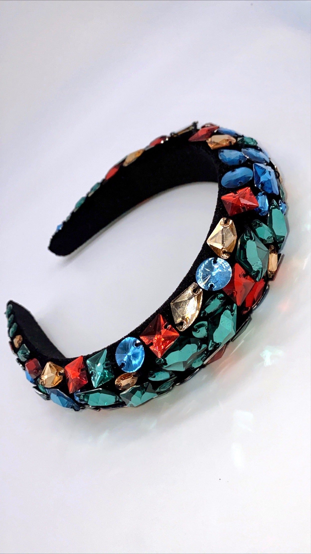 Colorful Gem Head Band
