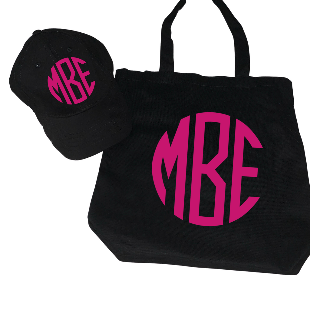 Baseball Cap and Tote Bag