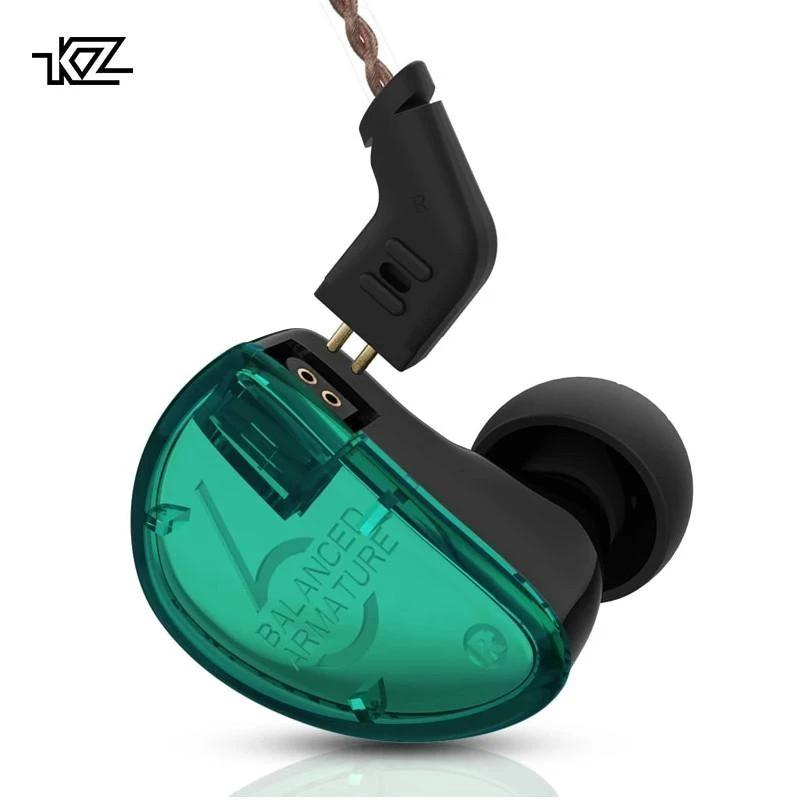 KZ AS06 Six-Balanced Armature Earphones By Knowledge Zenith