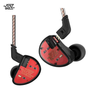 KZ AS10 Ten-Balanced Armature Earphones By Knowledge Zenith