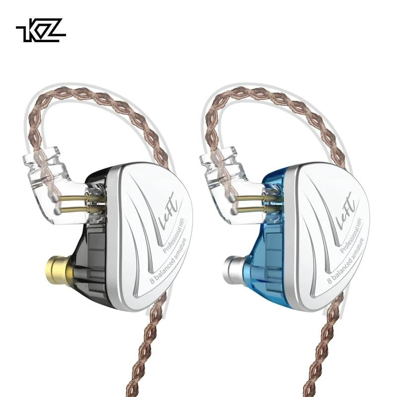 KZ AS16 Sixteen-Driver Balanced Armature Earphones By Knowledge Zenith