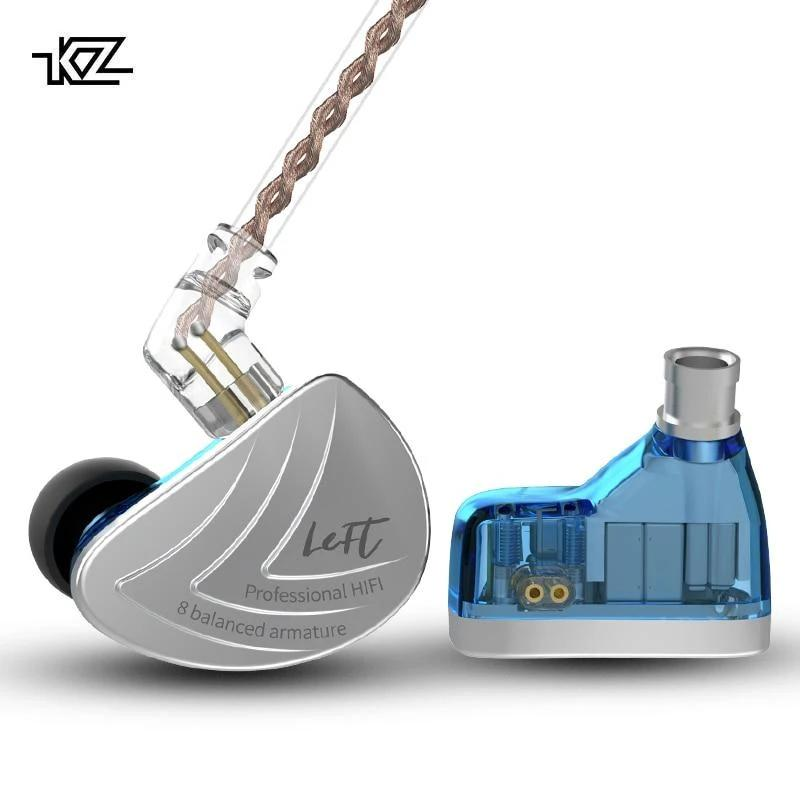 KZ AS16 Eight-Driver Balanced Armature Earphones By Knowledge Zenith