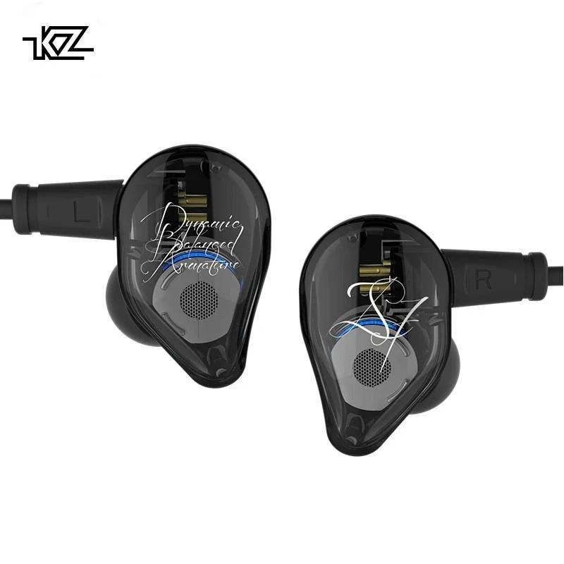 KZ ED16 Dual-Drive Hybrid Technology Earphones By Knowledge Zenith