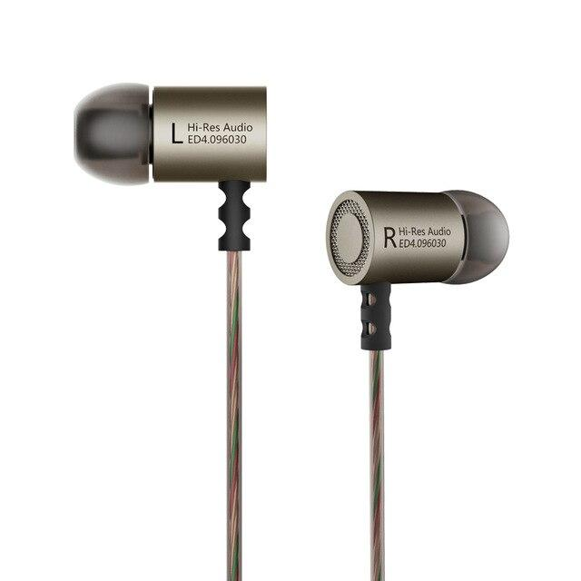 KZ ED4 Dual-Magnet Dynamic Drive Earphones By Knowledge Zenith