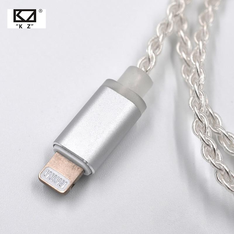 Knowledge Zenith KZ Lightning Upgrade Cable Accessories By Knowledge Zenith