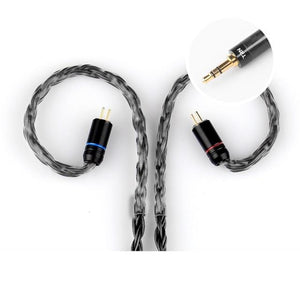 TRN TRN 16-Core Silver Plated Upgrade Cable (No Microphone) Accessories By Knowledge Zenith