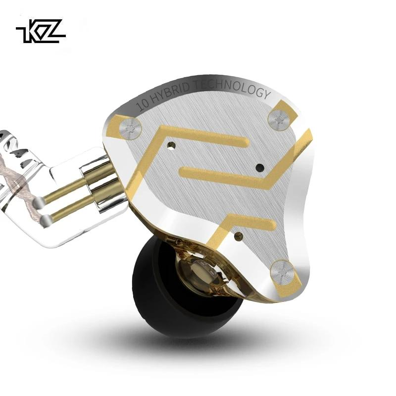 KZ ZS10 PRO Five-Driver Hybrid Technology Earphones By Knowledge Zenith