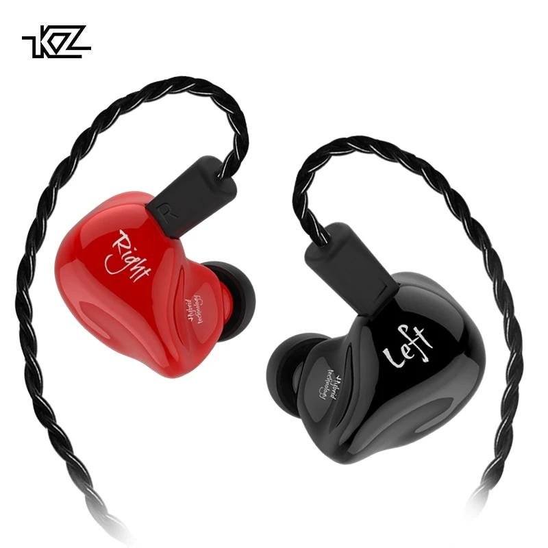 KZ ZS4 Dual-Driver Hybrid Technology Earphones By Knowledge Zenith