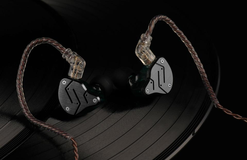 KZ ZSN Dual-Drive Hybrid Technology Earphones By Knowledge Zenith