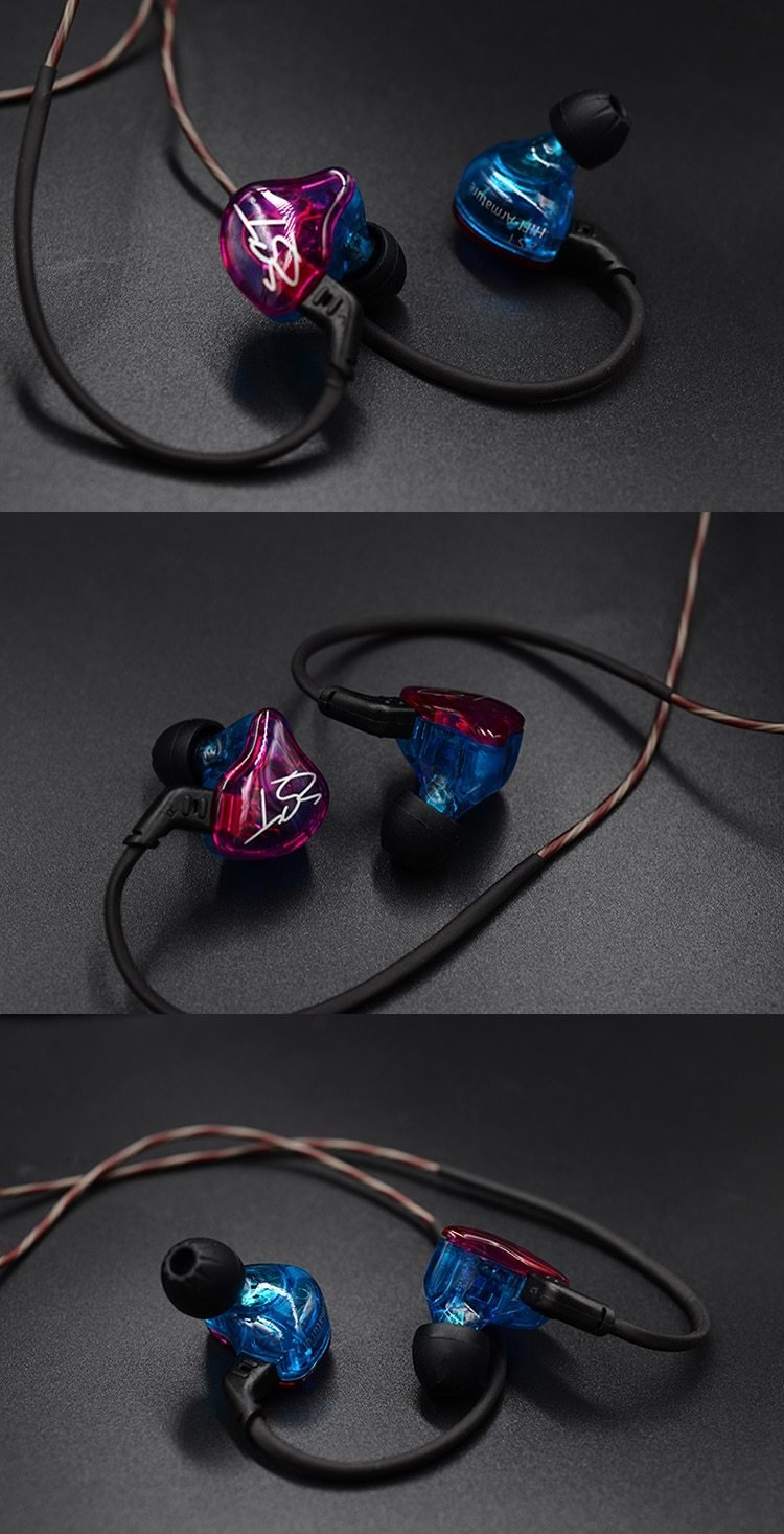 KZ ZST PRO Dual-Drive Hybrid Technology Earphones By Knowledge Zenith
