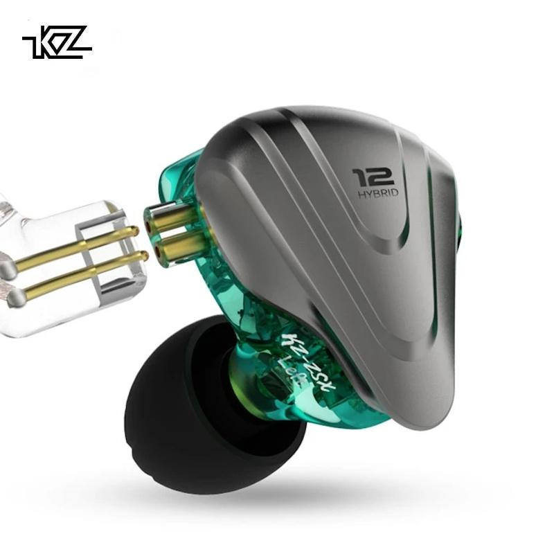 KZ ZSX Six-Driver Hybrid Technology Earphones By Knowledge Zenith