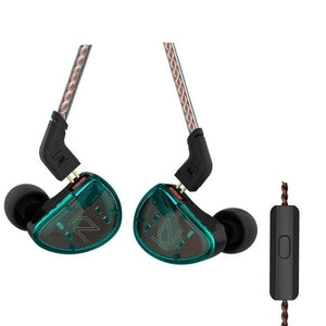 KZ AS10 Ten- Balanced Armature Earphones By Knowledge Zenith