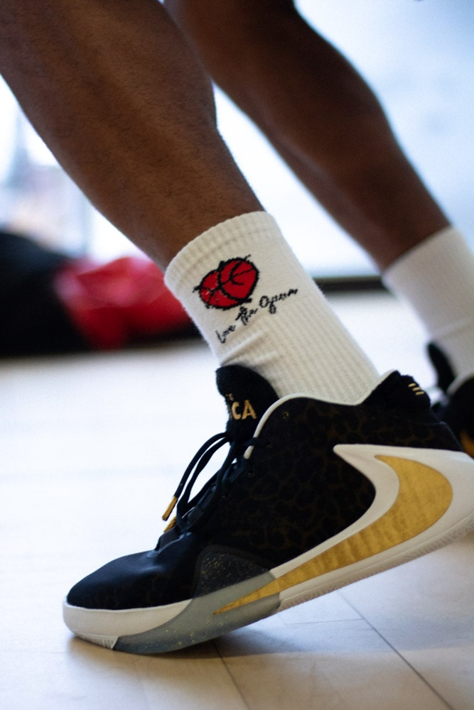Love & Basketball Essential Crew Socks