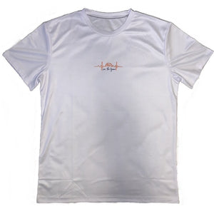 love the game mentality essential basketball shirts - white