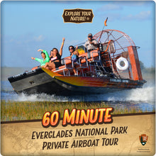 Load image into Gallery viewer, Everglades National Park Private Airboat Tour - 60 Minute