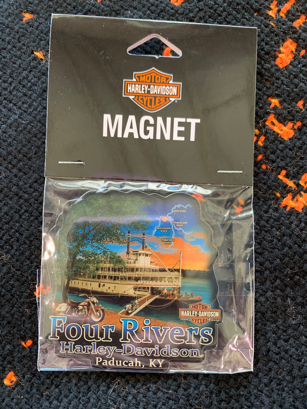 Riverboat Magnet