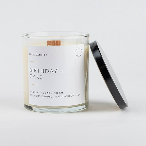 BIRTHDAY + CAKE Soy Candle - Rebel Candles