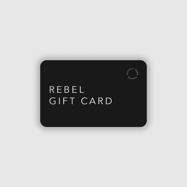 GIFT CARD Soy Candle - Rebel Candles