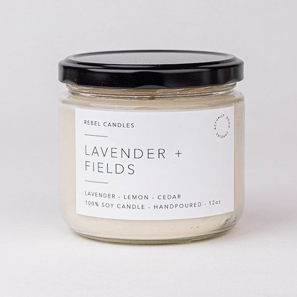 LAVENDER + FIELDS - Rebel Candles
