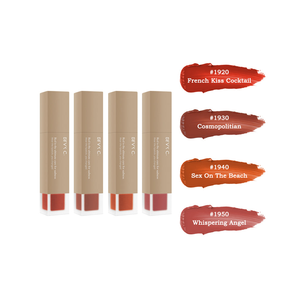 Vintage Matte Liquid Lipsticks Collection Set