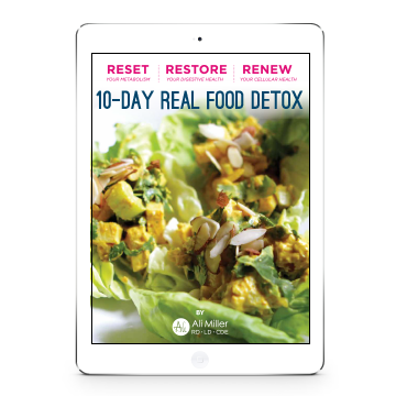 10 Day Real Food Detox