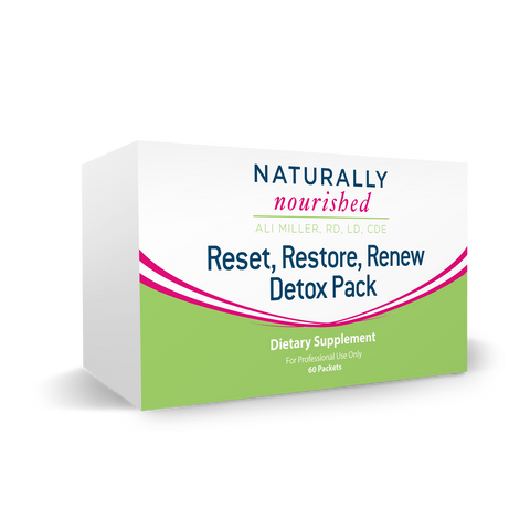Reset Restore Renew Detox Packs