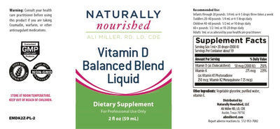 Vitamin D Balanced Blend Liquid