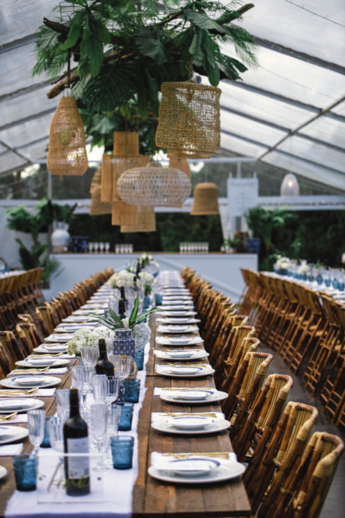 Wedding inspiration Table Setting - the white place lifestyle and events