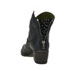 Estilo Emporio Taupe Studded Love Zip Boot