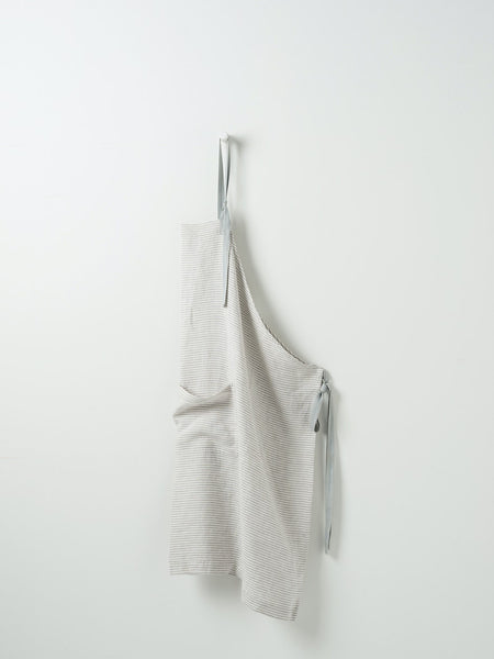linen apron available at the white place, orange