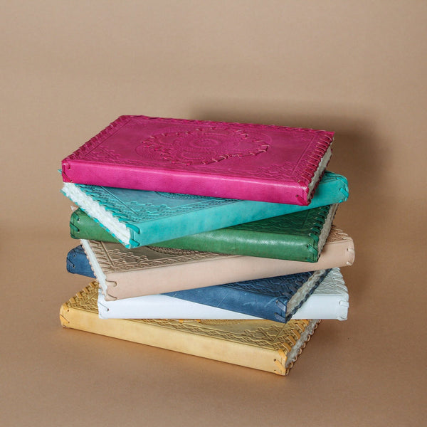 Indigo love collectors leather journal - available at the white place, orange nsw. Free shipping when purchased online