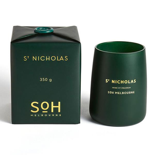 SOH St Nicholas Candle - available at the white place, orange nsw