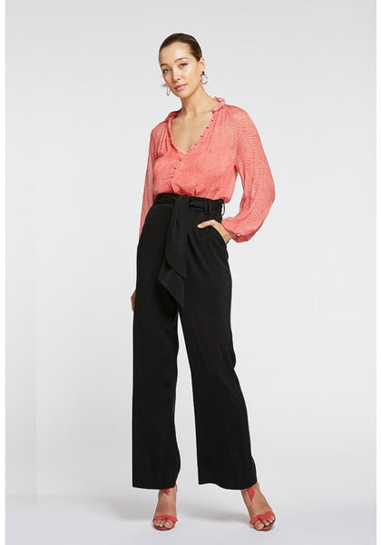 black wide leg pant - free shipping