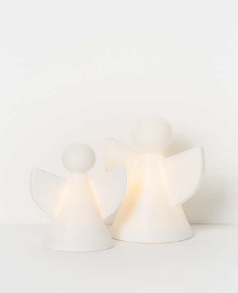 Holiday LED porcelain Angel white