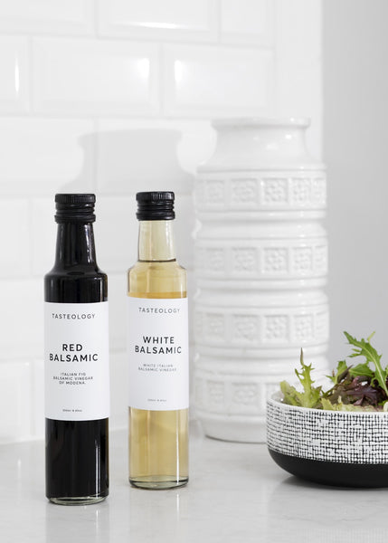 tasteology balsamic vinegar - available at the white place, free shipping in australia