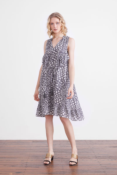 rhia spot dress - free shipping