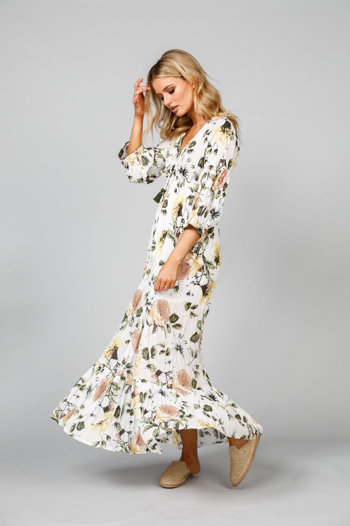 Bella dress in Tuscan Garden Print