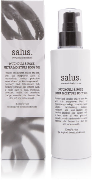 salus body - body oil available at the white place, orange nsw. free shipping in australia