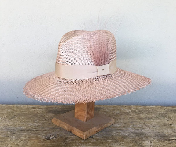 Mia Penelope Haddrill handmade hat - available at the white place, orange nsw