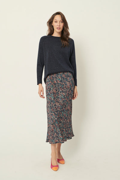 Stella forestry silk skirt - The White Place