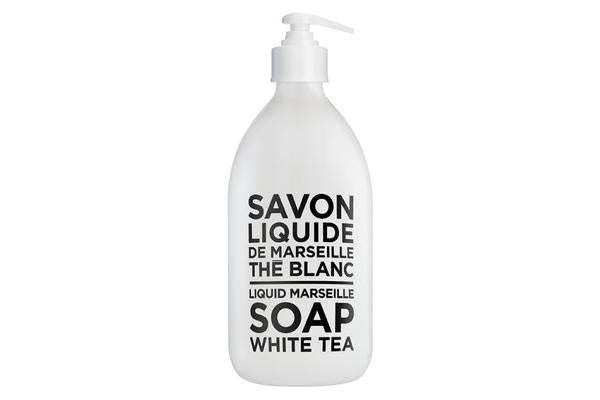 White tea liquid soap