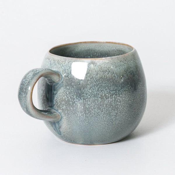 seamist indigo love mug - available at the white place, orange