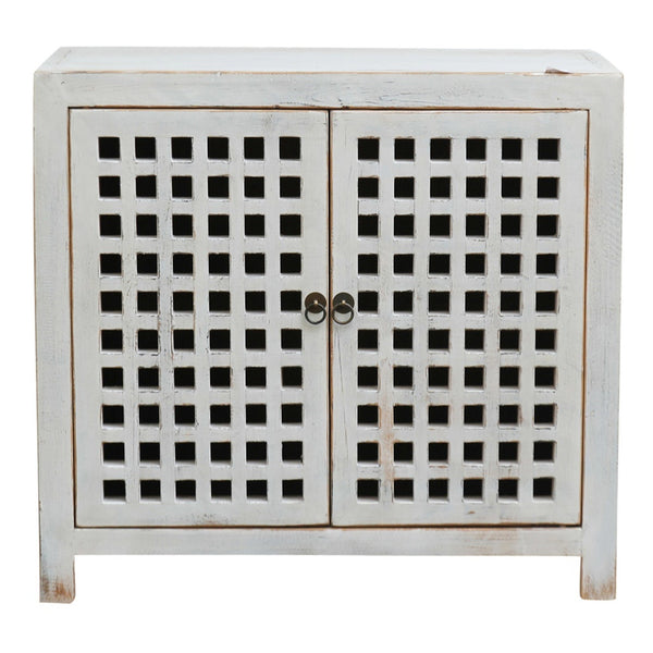 white slatted cabinet available at the white palce, orange nsw