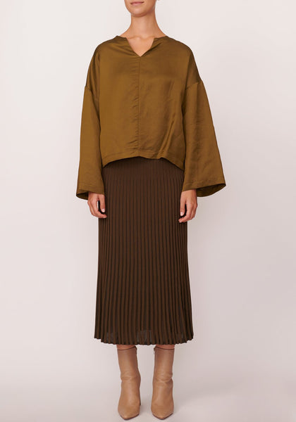 Scope ribbed skirt