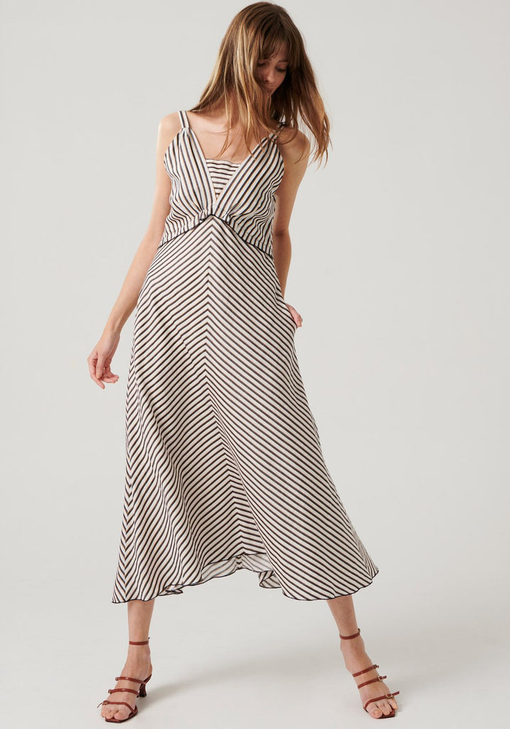 Pol Clothing Graphite Dress - free shipping