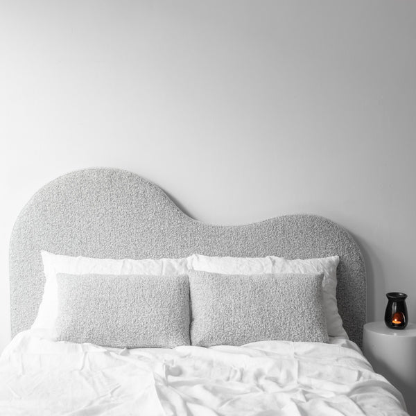 McMullin and Co curved bedhead - available at the white place, orange nsw