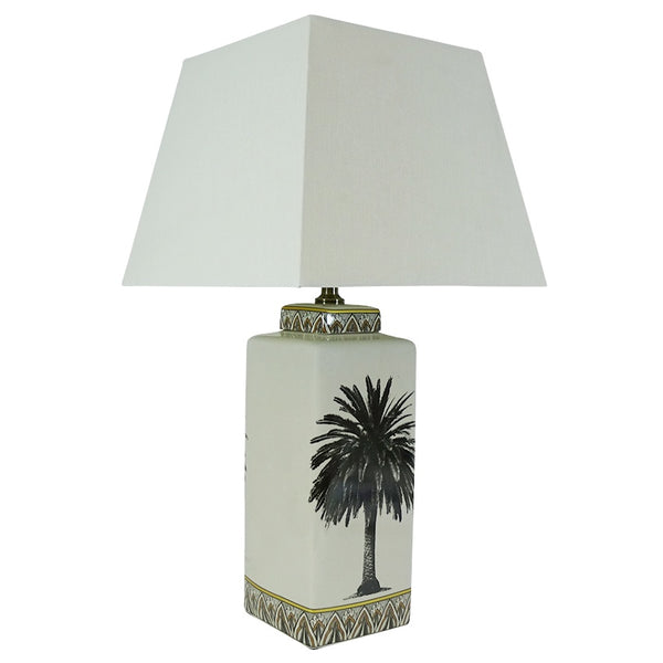 Searles - table lamp at the white place, orange
