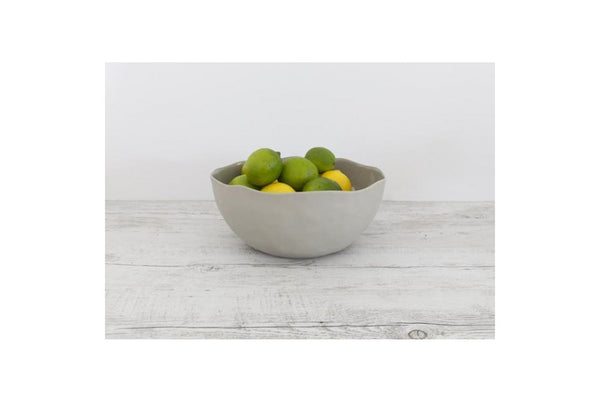 mediterranean markets flax salad bowl - available at the white place orange nsw