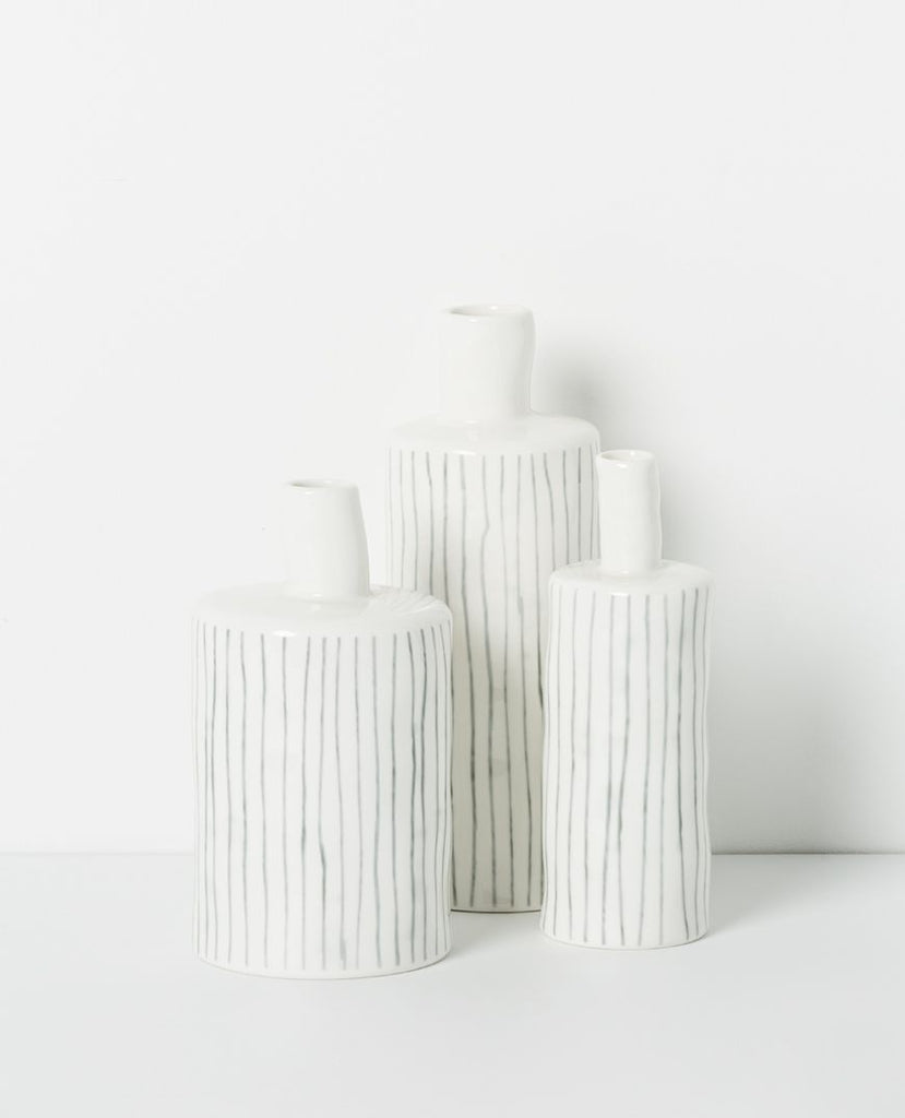Papaya noriko vases available at the white place, orange